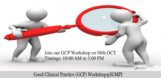 Good Clinical Practice (GCP) Workshop@IGMPI