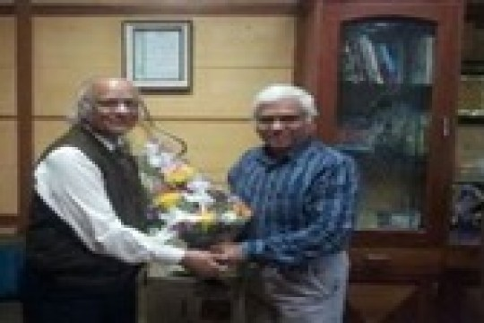 Our Advisor Dr. Mahesh C Gupta with Secretary General of the Quality Council of India (QCI) Mr. B. Venkataraman